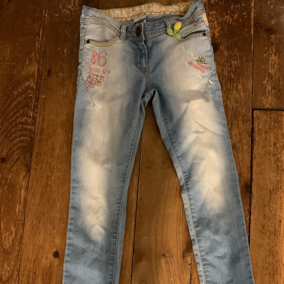 next Other - Girl Next embroidered jeans